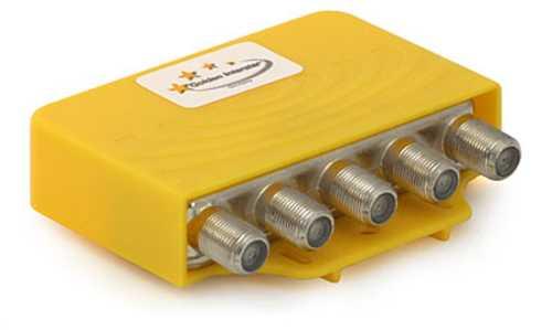 DiSEqC Schalter 2.0 + Tone Burst 4/1 Golden Interstar