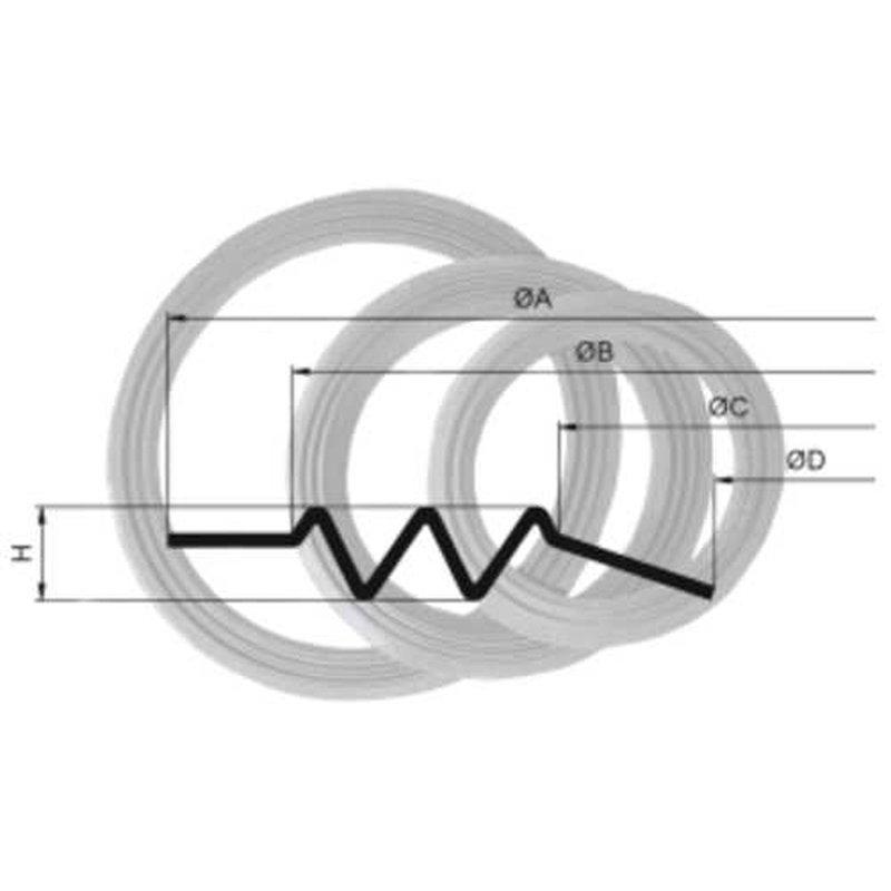 Lautsprecher Sicke Reparatur Gewebesicke 40cm, 44,91 zł