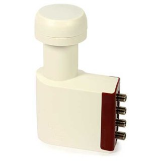 SAT LNB QUAD Inverto Red Extended 0,3 dB
