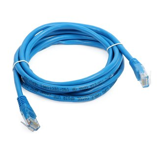 Kabel Patchkabel UTP 2m CAT5e blau