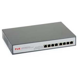 PoE Switch 48V ULTIPOWER 0800af 8xRJ45 802.3af