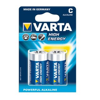 Batterie VARTA 2x Stück Baby R14 High Energy 4914 Blister