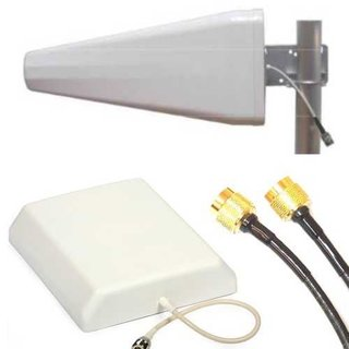 Repeater für GSM GPRS UMTS LTE passiv incl. 2x Antennen