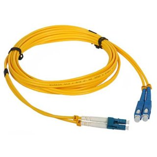 LWL Patchcord Single-mode PC-515D 2xSC-2xLC G.652D 3m