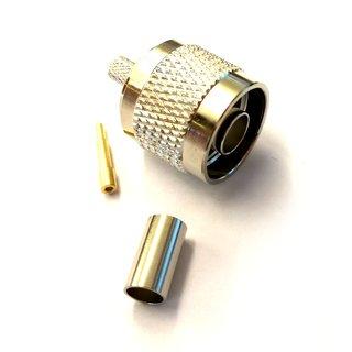 Antenne Stecker N-male Nm für RG58 Kabel zum crimpen, 1,07 &euro